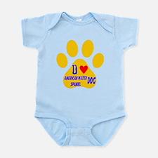I Love American Water Spaniel Dog Infant Bodysuit