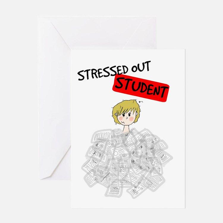 Cute College Greeting Card
