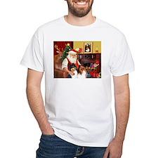 Santa's Collie pair Shirt