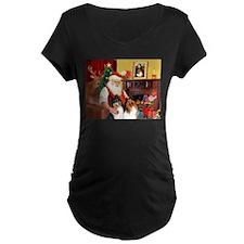 Santa's Collie pair T-Shirt