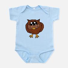 Mustache Owl Body Suit