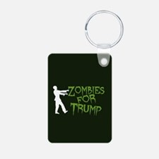 Zombies For Trump Keychains