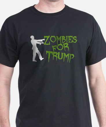 Zombies For Trump T-Shirt