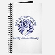 Artistic Well Behaved Women Journal