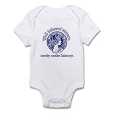 Artistic Well Behaved Women Infant Bodysuit