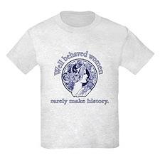 Artistic Well Behaved Women T-Shirt