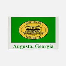 Augusta GA Flag Rectangle Magnet
