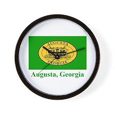 Augusta GA Flag Wall Clock