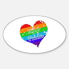 Unique Same sex couples Sticker (Oval)