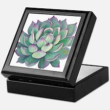 Succulent plant Keepsake Box