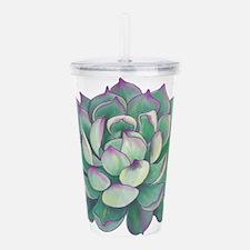 Succulent plant Acrylic Double-wall Tumbler