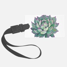 Succulent plant Luggage Tag