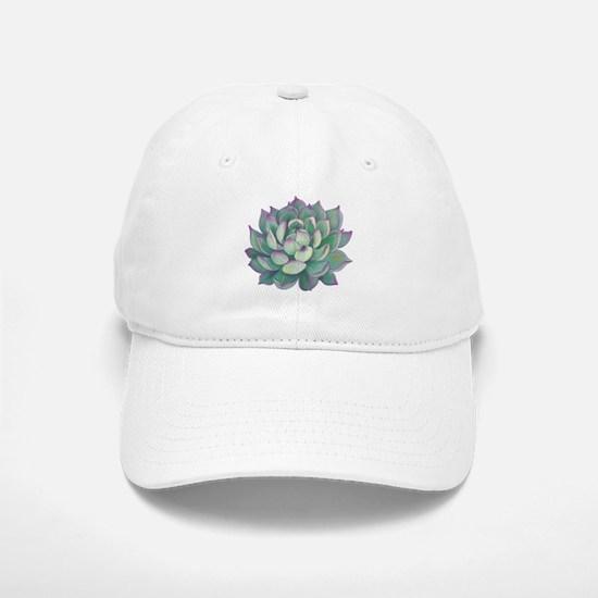 Succulent plant Baseball Cap