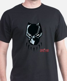 Black Panther Mask T-Shirt