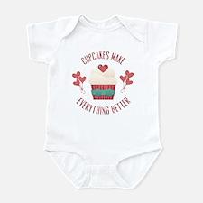 Cupcakes Make Everything Better Infant Bodysuit