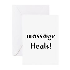 massage Heals! Greeting Cards (Pk of 10)