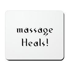 massage Heals! Mousepad