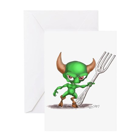 tabledemon Greeting Cards