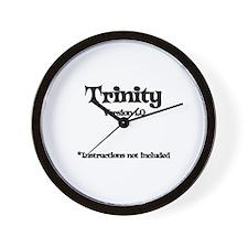 Trinity Version 1.0 Wall Clock