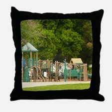 Unique Playground Throw Pillow