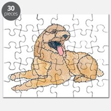 Funny Golden doodles Puzzle