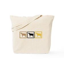 Cow Squares Tote Bag
