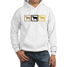Cow Squares Hoodie