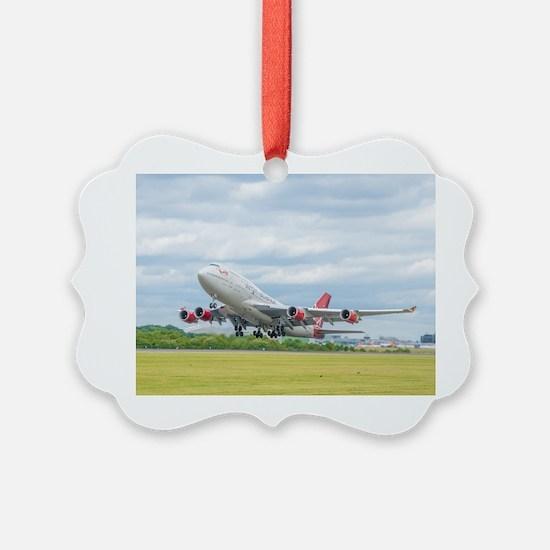 Cute Jetliner Ornament
