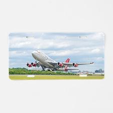 Unique Airline Aluminum License Plate