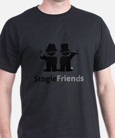Stogie Friends Swag - Black Design T-Shirt