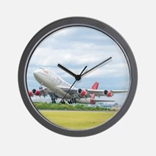 Virgin Atlantic B747 Wall Clock