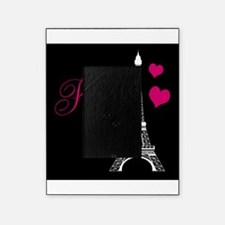 Paris Eiffel Tower in Black Picture Frame