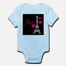 Paris Eiffel Tower in Black Body Suit