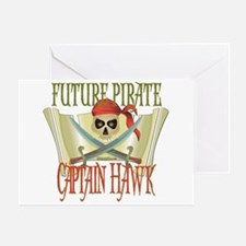 Captain Hawk Greeting Card