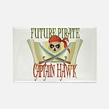 Captain Hawk Rectangle Magnet