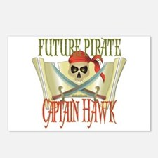 Captain Hawk Postcards (Package of 8)