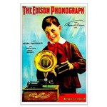 The Edison Phonograph Poster