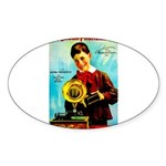 The Edison Phonograph Sticker