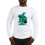 White Rabbit with Trumpet Long Sleeve T-Shirt