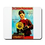 The Edison Phonograph Mousepad