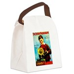 The Edison Phonograph Canvas Lunch Bag
