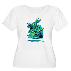 White Rabbit with Trumpet T-Shirt