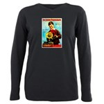 The Edison Phonograph Plus Size Long Sleeve Tee