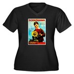The Edison Phonograph Plus Size T-Shirt