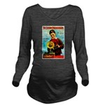 The Edison Phonograph Long Sleeve Maternity T-Shir