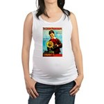 The Edison Phonograph Maternity Tank Top