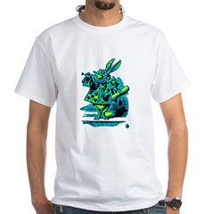 White Rabbit with Trumpet Shirt