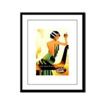 Tuborg Classic Liquor Framed Panel Print