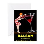 Balsam Aperitif Greeting Cards