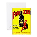 Fred-Zizi Aperitif Greeting Cards